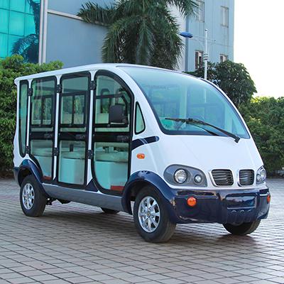 三排座封闭款电动巡逻车LQX065
