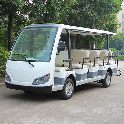 LQY145B豪华(白色)14座电动观光车