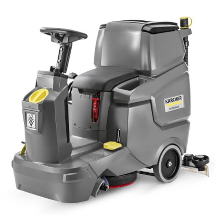 德国卡赫驾驶式盘刷、滚刷互换型全自动洗地吸干机BD50/70